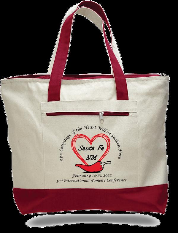 IWC SantaFe Canvas Bag